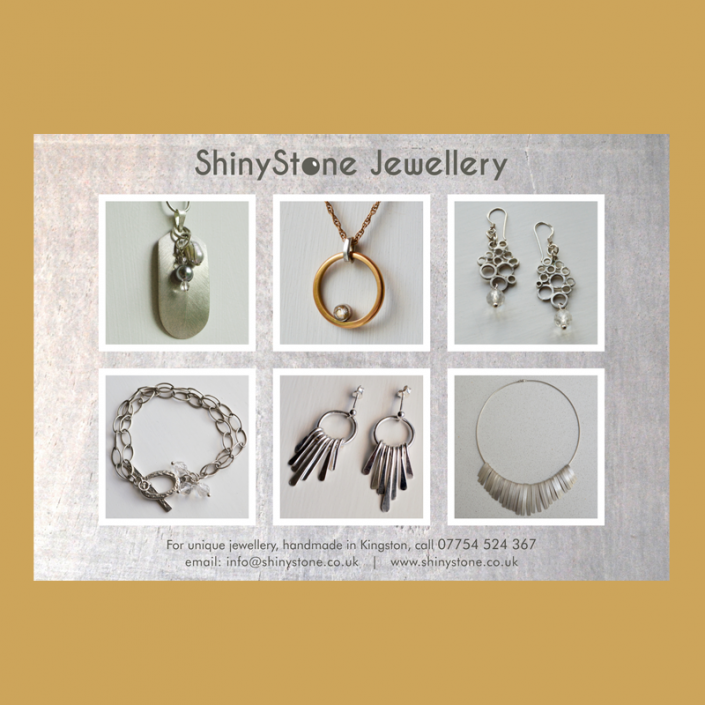 Identity, graphic design and website design for a jeweller